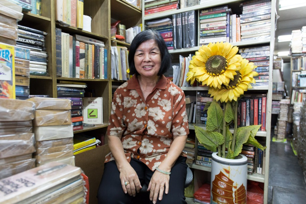 Chow Siow Chin, bookworm and librarian at Junk Book Store
