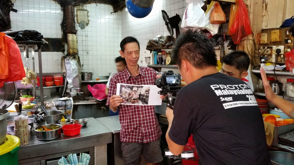 Peter Lee of Koon Kee Wantan Noodle fame