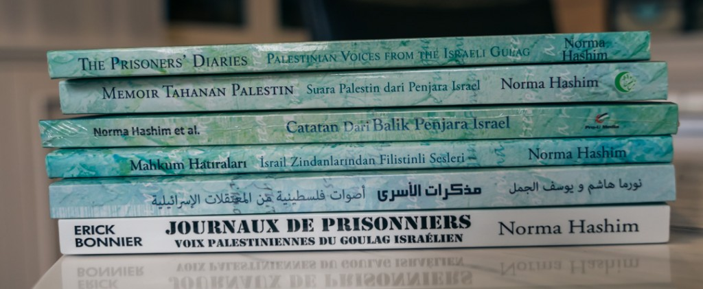 The Prisoners' Diaries in 6 languages